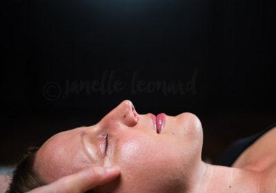 CranioSacral - Janelle Leonard, LMT. Photo © Charles Peterson